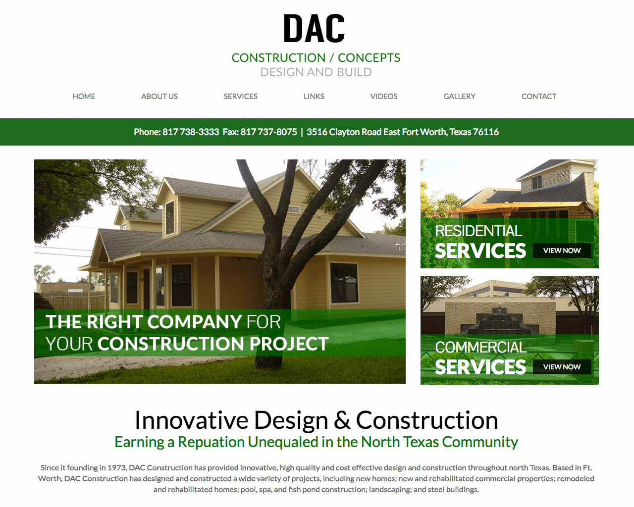 DAC Construction Concepts