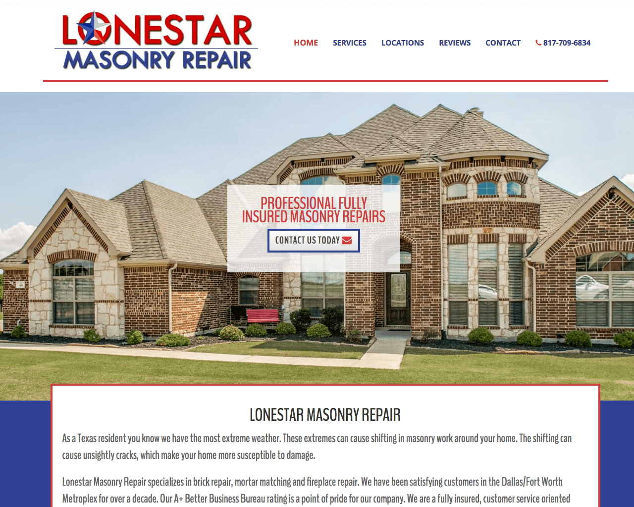 Lonestar Masonry Reppair