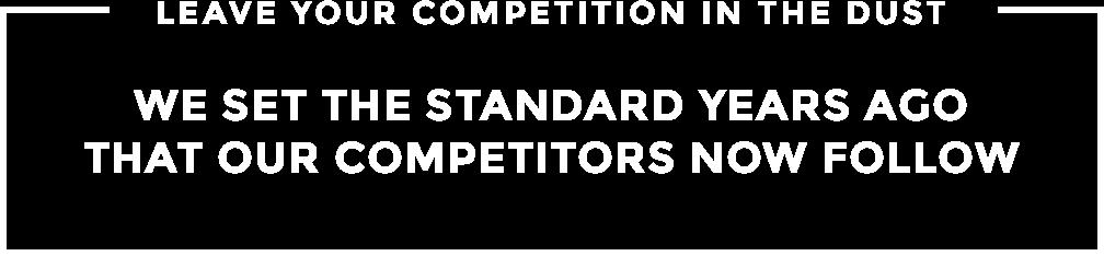 set the website standard