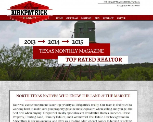 Kirk Patrick Realty Texas